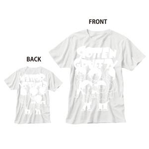 LINEスタンプキャラT-Shirt ホワイト×ホワイト