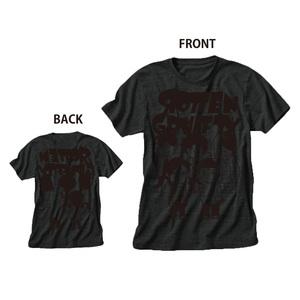 LINEスタンプキャラT-Shirt ブラック×ブラック