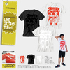 LINEスタンプキャラT-Shirt ホワイト×レッド