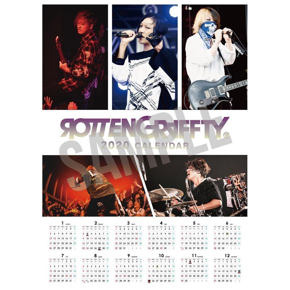 【610倶楽部会員 限定】ROTTENGRAFFTY 2020ポスターカレンダー