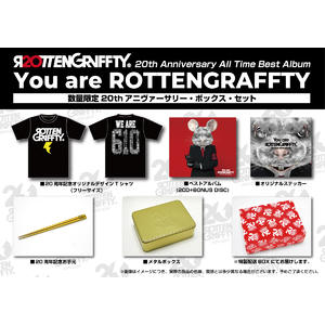 All Time Best Album 「You are ROTTENGRAFFTY」 [数量限定20thアニヴァーサリー・ボックス・セット(2CD+BONUS DISC+GOODS)]